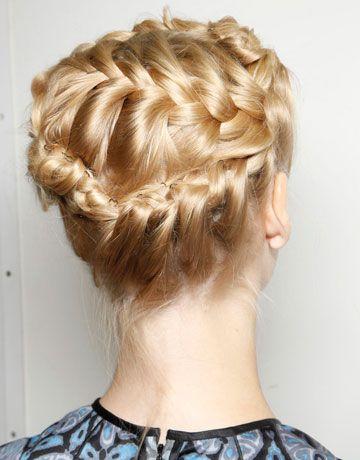 Inspiration: Braids. The best twisted hairstyles seen on the catwalks! On thisgirlfashiondiary.wordpress.com