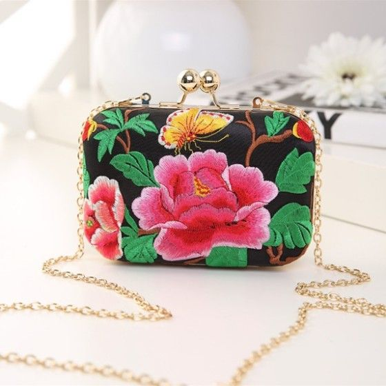Shopo.in : Buy Embroidered Clutch online at best price in New Delhi, India