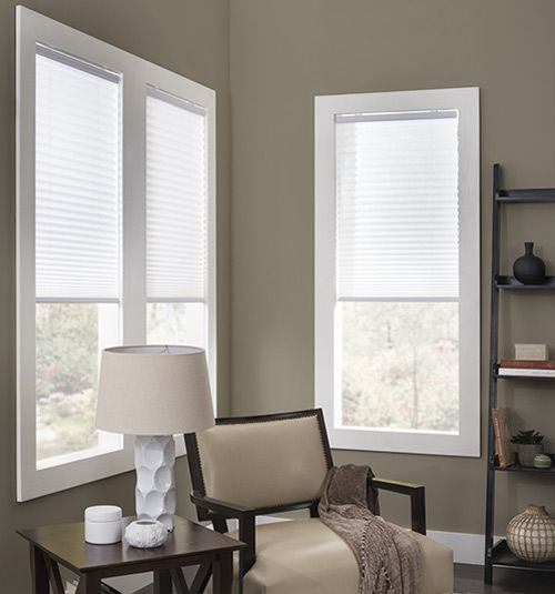 13 best pleated shades accordion blinds images on for Best blinds for casement windows