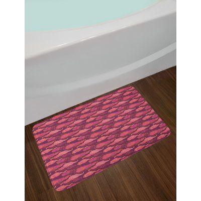 East Urban Home Clouds Purple Bath Rug Bath Mat Sets