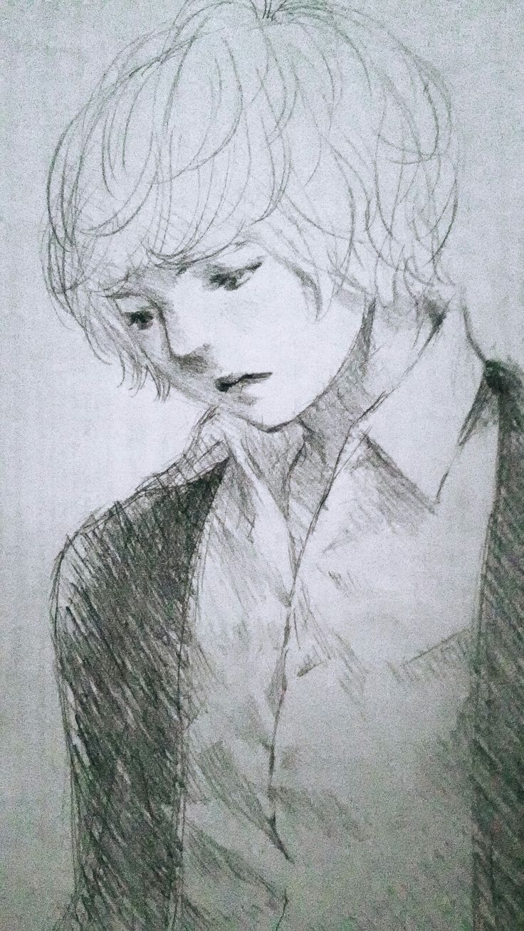 Just Test, If I could still sketching or no.. :) It turns out I still can't make it as I used to ~ a late nite random doodle on reused paper.. #drawing #illustration #manga #boy #sketch #doodle #art #artwork #pencil #fineart #dibujo #boceto