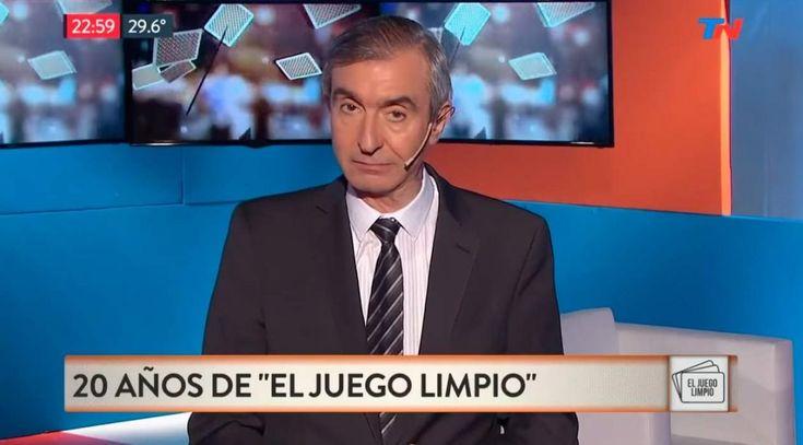 """Así fue la despedida de Nelson Castro de """"El Juego Limpio"""" https://www.diariopopular.com.ar/espectaculos/asi-fue-la-despedida-nelson-castro-el-juego-limpio-n335809"""
