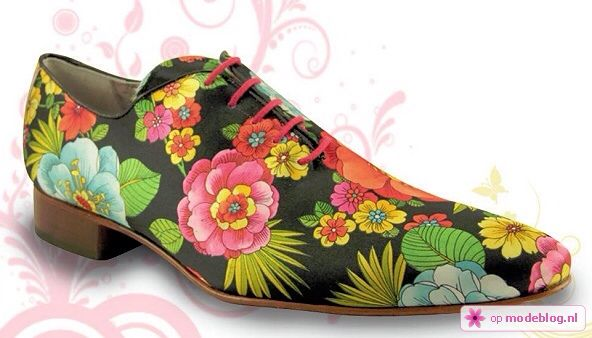 """Flower Forrest"" Mascolori Shoes"
