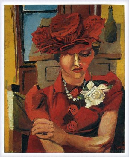 Renato Guttuso - Ritratto di Mimise, 1947