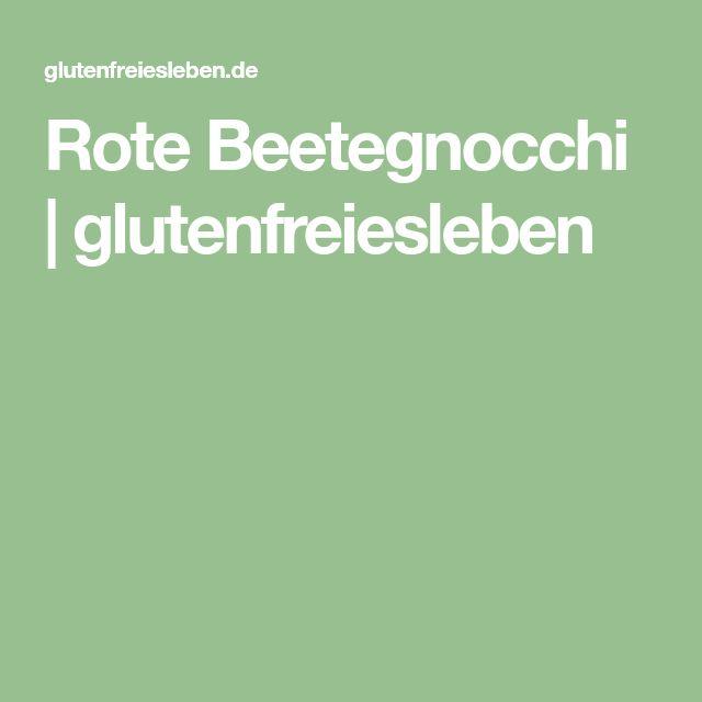 Rote Beetegnocchi | glutenfreiesleben