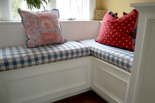 17 best ideas about window seat cushions on pinterest - Indoor window seat cushions ...