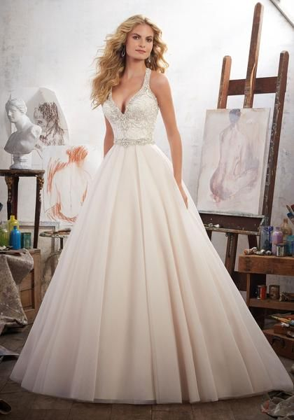 Mori Lee Margarita 8119 Romantic Tulle Ball Gown Wedding Dress