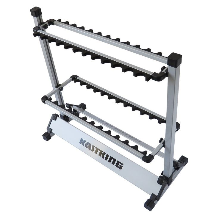 KastKing offers it's Portable Aluminum 24 Fishing Rod Holder which comes at a price, usefulness, and durability that's hard to beat.