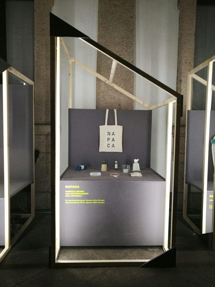 NAPACA | Kit di merchandising per il Museo della Canapa - progetto speciale [designed by: Gabriele Lorusso, Luca Notarfrancesco, Luca Venturelli]