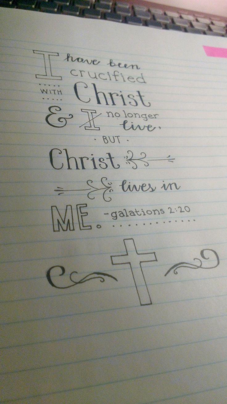 Galations 2:20
