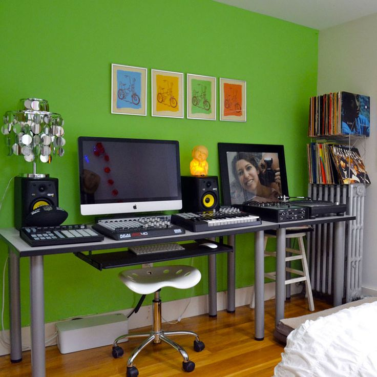 This Home Music Studio Will Make You Green With Envy Final Frame