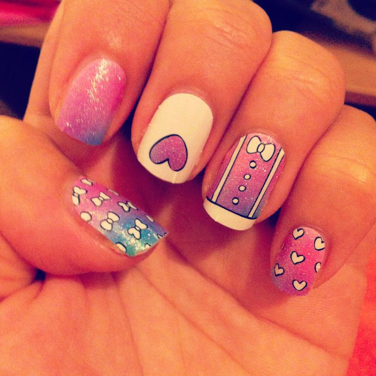 9 best Nail art images on Pinterest | Beauty, Hairdos and Make up looks