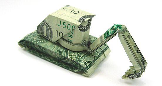 Geldgeschenk - tank