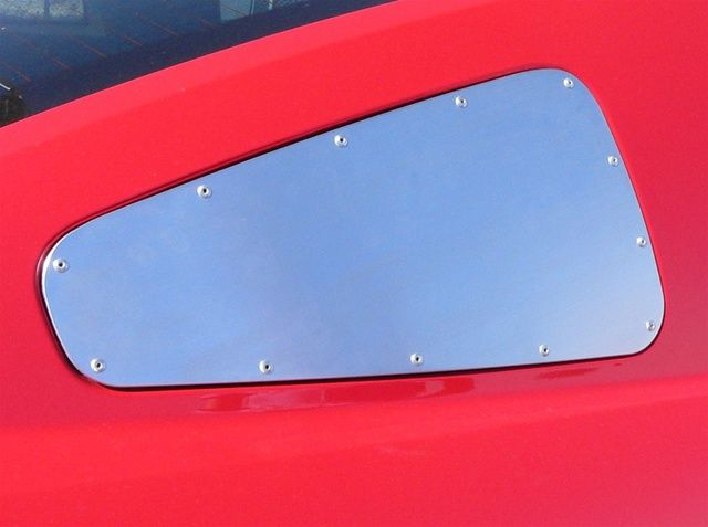 2005-2009 Mustang Plain Quarter Window Block off Plate (Pair)  $49.46  https://www.partscheap.com/scott-drake-2005-2009-mustang-plain-quarter-window-block-off-plate-pair-5r3z-29796-7-r?parent=1513