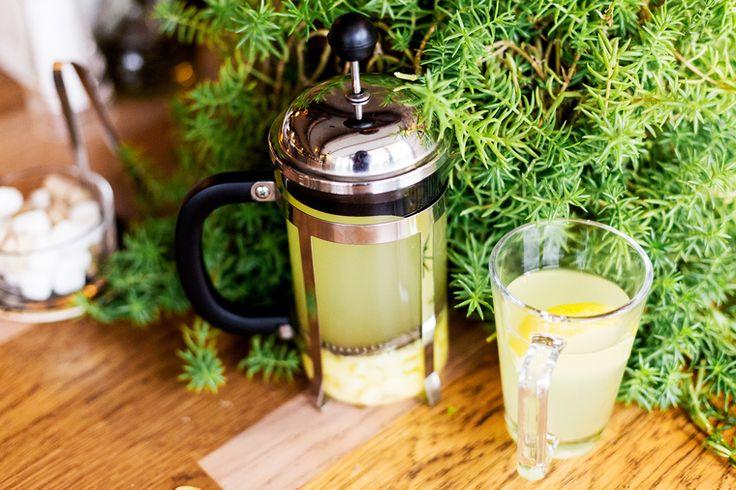 How to Green | Рецепт чая с имбирём, лимоном и мёдом от простуды и гриппа