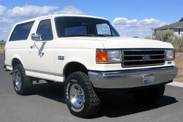 1990 Ford Bronco first car I had :)