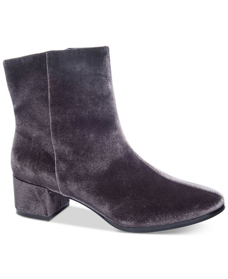 Chinese Laundry Florentine Velvet Booties - Boots - Shoes - Macy's