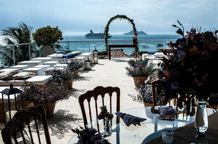 Livia & Ben | Casamento na Praia - Colher de Chá Noivas | Blog de casamento Por Manoela Cesar