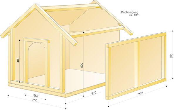Hundehütte bauen: Schritt 16 von 16