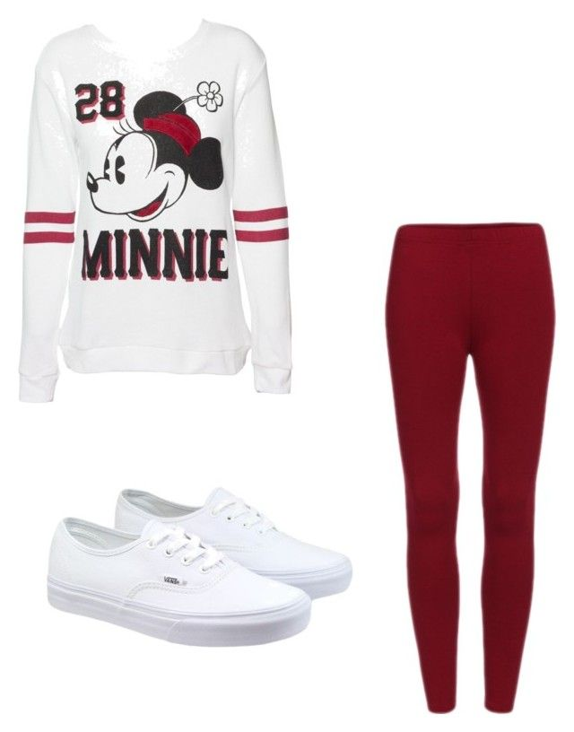 """"" by super19fam on Polyvore featuring beauty, Disney and Vans"
