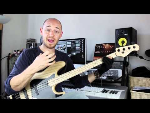 how to play a ghost note on bass guitar