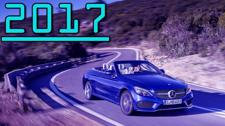 ►2017 Mercedes-Benz C-Class Cabriolet 9G-TRONIC Features First Drive Review