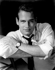 I'm pretty sure there was never (or ever will be) a man as gorgeous as Paul Newman.  And what a lovely human being he was.