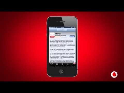 Come faccio a: scaricare l'app My190 di Vodafone