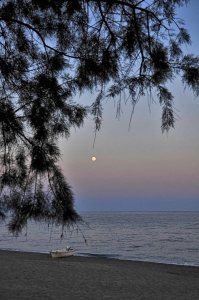 Good night from the beach, Mavrovouni beach Gythio