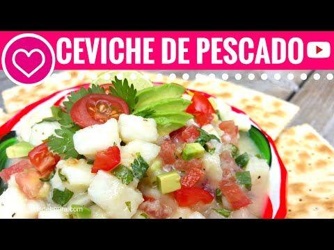 Cómo hacer CEVICHE de PESCADO - Las Recetas de Laura ❤ Recetas de Comida Saludable - YouTube