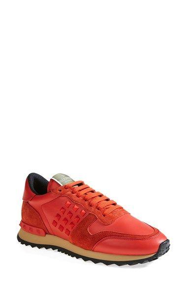 Valentino 'Rockstud' Sneaker (Women) available at #Nordstrom