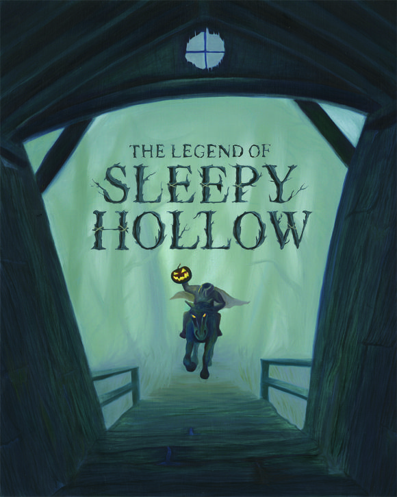 legend of sleepy hollow Legends of sleepy hollow is a cooperative game for 1 to 4 players, designed by ben pinchback & matt riddle (fleet, wasteland express delivery service), and illustrated by hugo award-winning artist abigail larson, with colin chan and ksenia svincova.