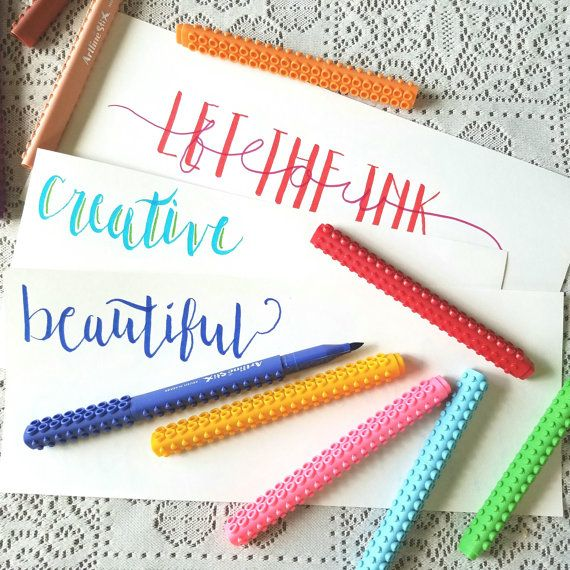 Artline Brush Markers Connecting Calligraphy Pen by ThePrintMint