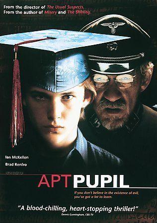 Apt Pupil DVD Ian McKellen Brad Renfro Stephen King Elias Koteas David Schwimmer