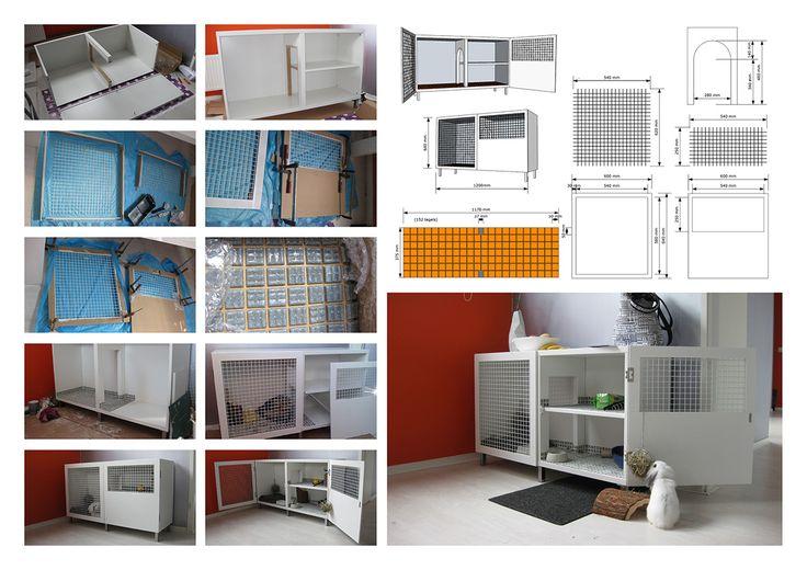 Diy rabbit house diy indoor rabbit hutch plans inside for Design indoor rabbit cages