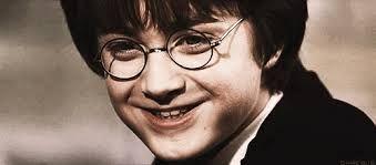 Dan Radcliffe dans '''Hrry Potter à l'école des sorciers '''(2002)