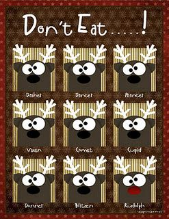 Christmas Game Free pdf download  This is a Christmas version of our don't eat pete game. Freat for small children! you could use raisins or sunflower seeds for a healthy alternative.