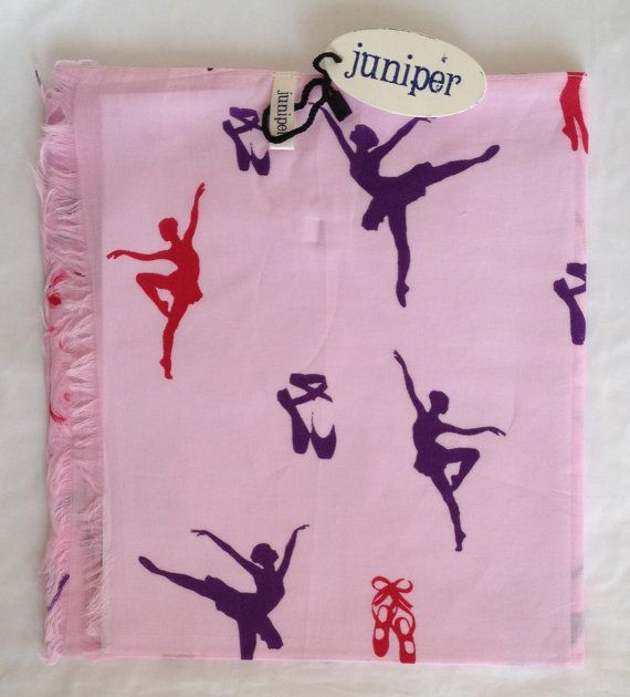 New 100% cotton women's pink ballet dancer by JuniperAccessories