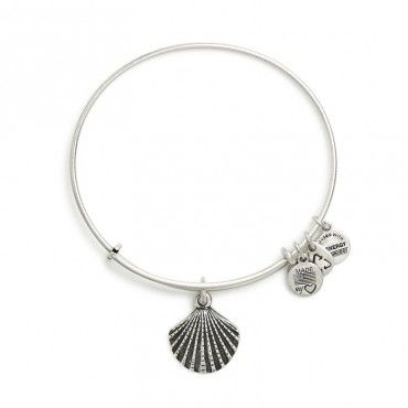 Sea Shell Charm Bangle Alex and Ani at Currents Gifts, West Dennis, MA on Cape Cod. Check out  www.CurrentsGifts.com for more information. #AlexandAni #CurrentsGifts