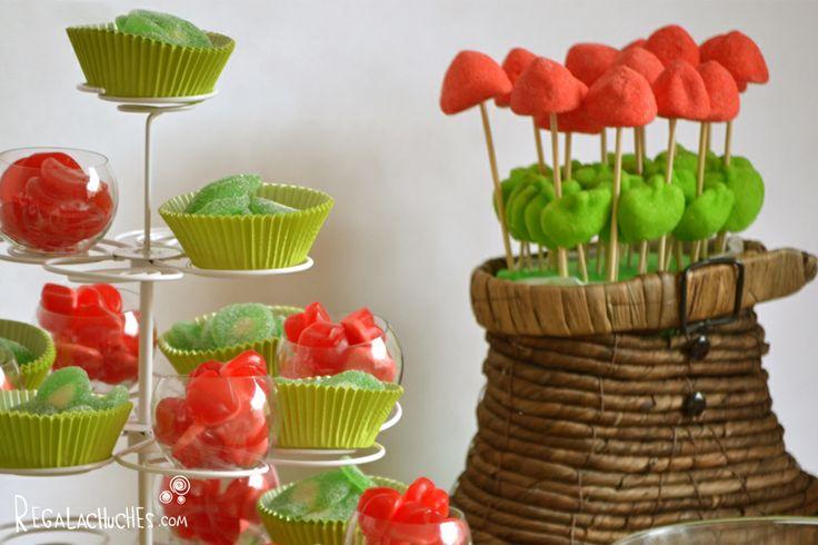Chuches para Candy Bar bodas