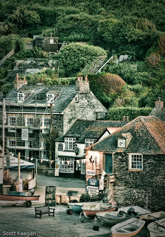 """Port Isaac, Cornwall / England """"Doc Martin"""" is set and filmed here."""