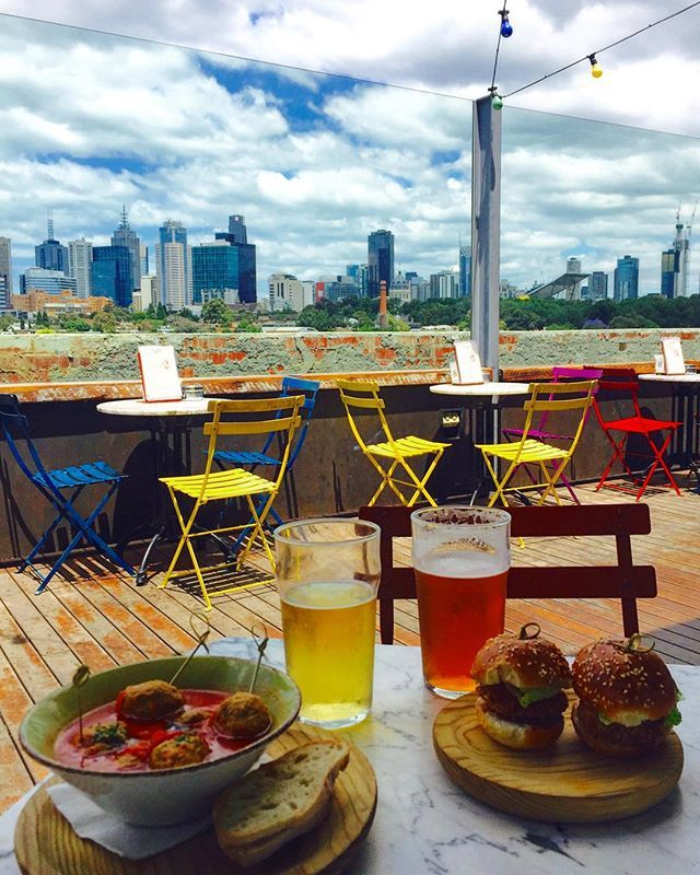 Lunch with a view #meatballsinmelbourne