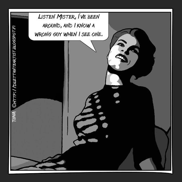 dilettante artist: The Film Noir Series http://dilettanteartist.blogspot.fi/2017/10/the-film-noir-series.html