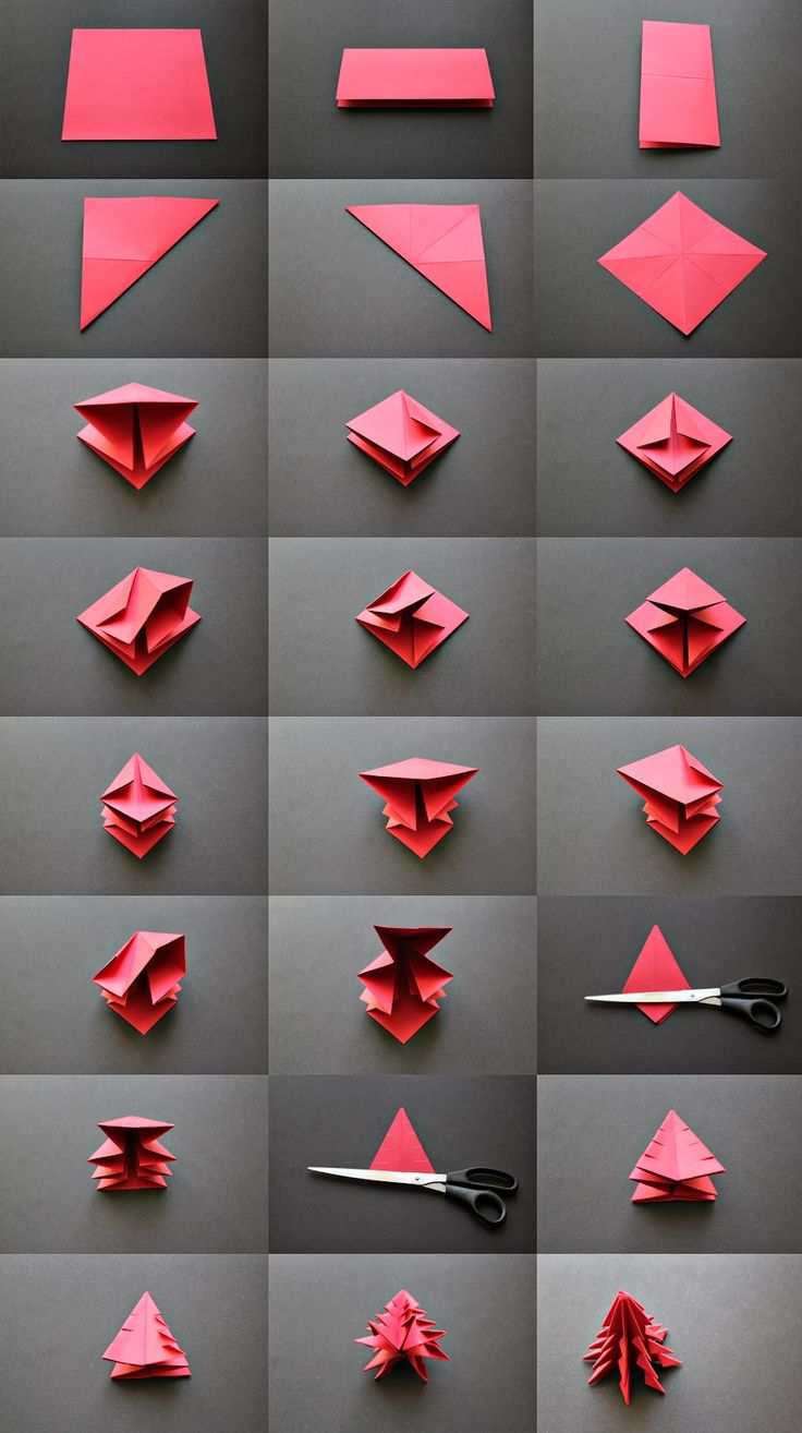 myLifebox: DIY :: Origami Christmas Tree