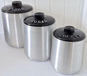 Vintage. Collection. Ensemble de pots à condiments KROMEX