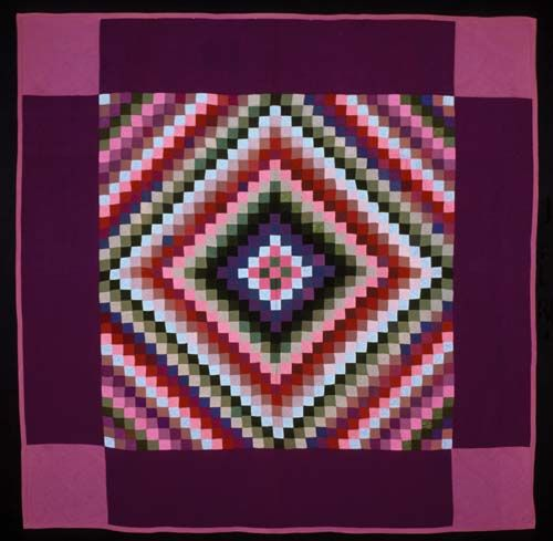 Amish Quilt - The colors radiate such warmth.