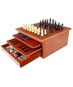 10 in 1 Wooden Games Set