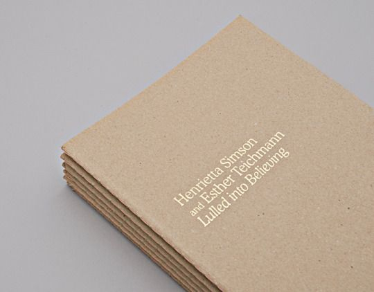 Common Ground // kraft and gold lettered business card with crisp, minimalist design