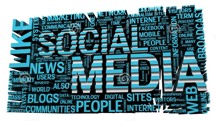 Social Media and the interactions that contribute to social media