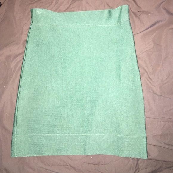 Bcbg bandeau skirt Mint green mini BCBG Skirts Mini